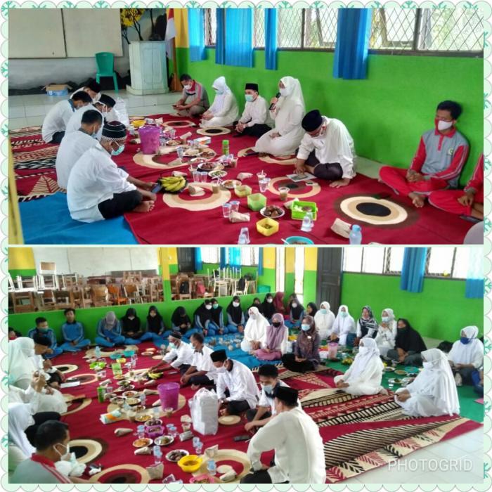Songsong  Ramadhan 1442 H MAN 2 Tebo Gelar  Doa bersama