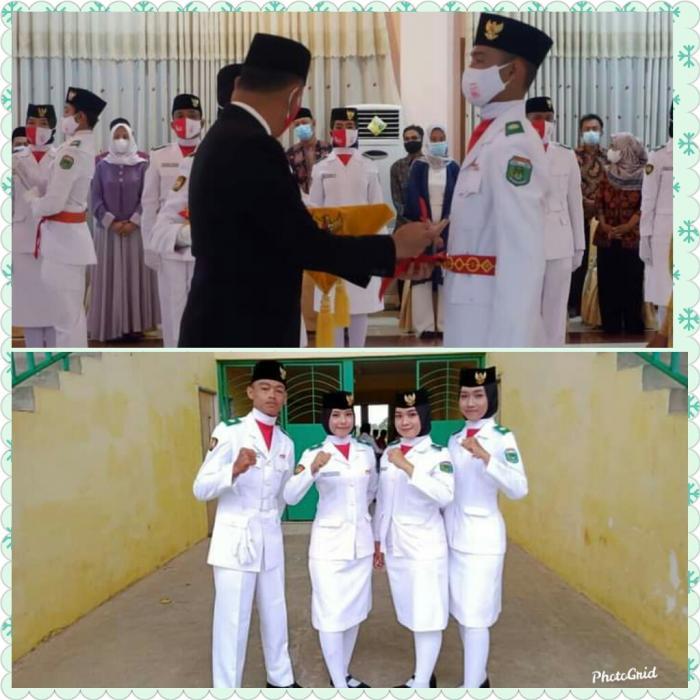 4 orang siswa MAN 2 Tebo terpilih sebagai Peserta Paskibraka HUT RI Ke -76